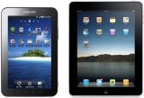 Apple won a ban on Galaxy Tab, claiming Samsung had copied its iPhone and iPad