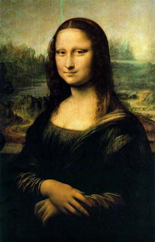 Artist Ron Piccirillo claims to have cracked a 500 year old mystery surrounding the Mona Lisa by spotting a series of zoo animals hidden in the painting photo