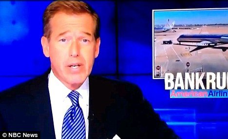 Brian Williams barely batted an eyelid when a siren went off in the channels 30 Rock studio in New York moments into the Nightly News show photo