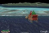 "Children and parents across the world can see just how far Santa and his reindeer are from their homes, thanks to a ""Santa Tracker"" that follows his route around the globe"