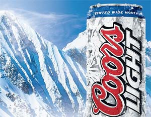 Clifton Vial from Alaska, who was stranded in snow for three days at temperatures of 1.4 F (minus 17 C), has survived by eating frozen Coors beer