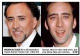Harry Shiers evaluation on Nicholas Cage teeth changes