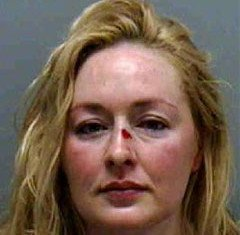 Mindy McCready was found hiding in a closet with her five-year-old son last night after defying a court order to return him to legal guardian