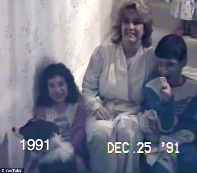 Nick Confalone edited a home video footage his father filmed every December 25 to chart his sister and himself growing up over 25 years