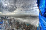 Picture captured from the 80th floor of One World Trade Center