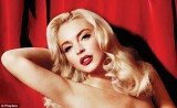 Playboy has released the first shot of Lindsay Lohan from the inside spread