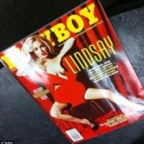 Playboy magazine featuring nude Lindsay Lohan will be released early following a second leak of her photos