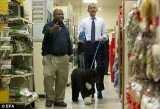 President Barack Obama took Bo on a shopping trip to PetSmart on Wednesday