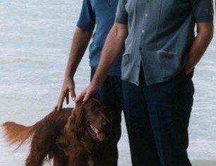 President Richard Nixon with Bebe Rebozo at Key Biscayne