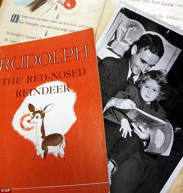 Rudolph the Red-Nosed Reindeer first appeared in a 1939 book written by Robert L. May, one of the Montgomery Ward's advertising copywriters