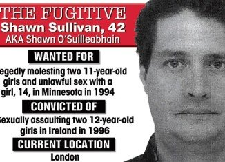 Shawn Sullivan, one of the world's most wanted paedophiles, and a senior British Ministry of Justice official have married in a secret ceremony behind bars