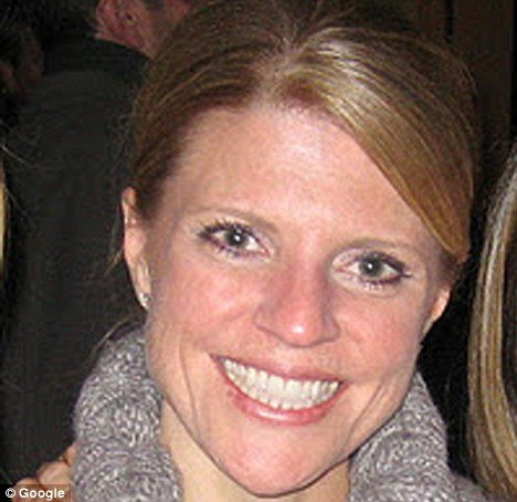 Shelley Kanther said male colleagues guessed her bra size and slapped her on the behind while she worked as the director of marketing communications at KYW Newsradio between April 2009 and August 2010