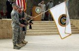The American flag has been lowered in Baghdad, bringing nearly nine years of US military operations in Iraq to a formal end