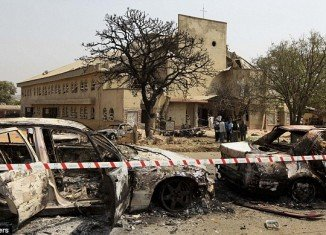 The Islamist group Boko Haram said it carried out the bomb attacks in Nigeria, including one on St. Theresa's Church in Madalla, near the capital Abuja, that killed 35