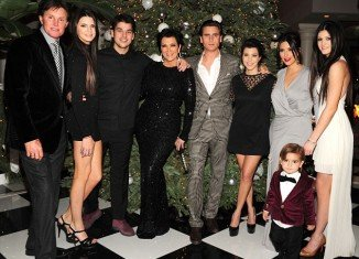 The Kardashians' spent quality time together at their glamorous annual Christmas Eve party