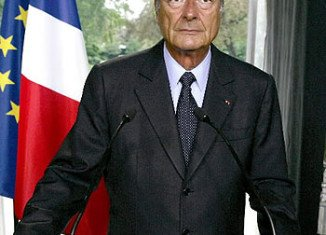 The former French President Jacques Chirac has been given by a court a two-year suspended prison sentence for diverting public funds and abusing public trust