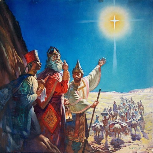 Who were the three wise men from east magi general
