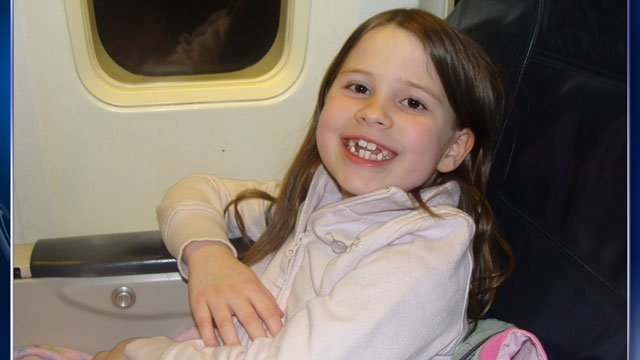 Unaccompanied Chloe Boyce, 9, spent five hours stranded in Baltimore after her Southwest flight was reroute, but her awaiting family was never told