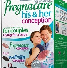 Vitabiotics Pregnacare-Conception, a 60 cents multi-vitamin pill could more than double a woman's chance of having a baby, according to a study carried out at University College London