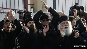 Mount Athos monks rallied for Abbot Ephraim