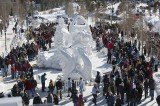 2012 International Snow Sculpture Competition, which is held in Breckenridge, Colorado, each year, came to a close this morning