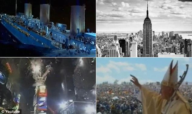 A YouTube video presents 100 years of world events from 1911 to 2011 into a 10-minute clip using authentic footage