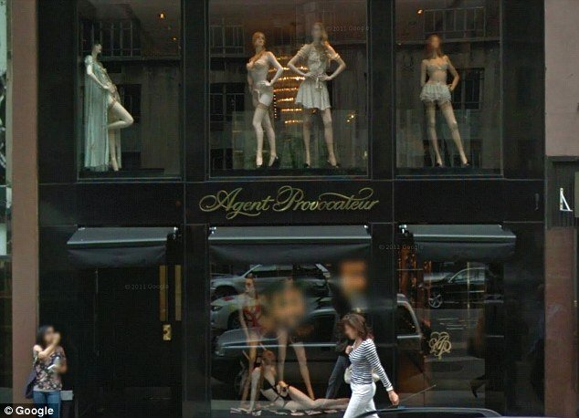 According to a report in the Daily Telegraph today, Agent Provocateur's boutique in Madison Avenue was partially closed off for Michelle Obama