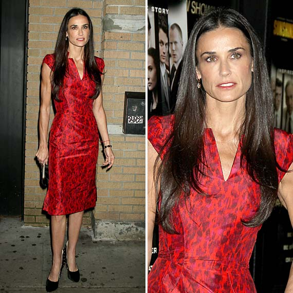 According to the 911 call tape from last Monday, Demi Moore suffered convulsions after smoking an undisclosed substance