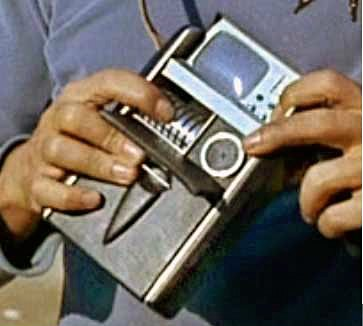 "According to the official Star Trek technical manual, a tricorder is a portable ""sensing, computing and data communications device"""