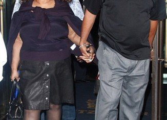 Aretha Franklin and her fiancé Willie Wilkerson