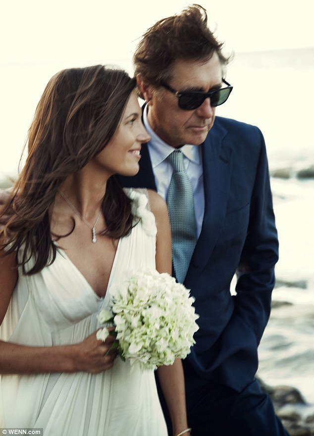 Bryan Ferry, 66, and Amanda Sheppard, 29, have tied the knot in a simple private ceremony at the stunning Amanyara luxury beach resort on the Turks and Caicos Islands last week on January 4th