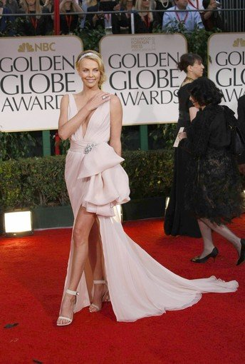 Charlize Theron is one of the unconventional gown choices winners