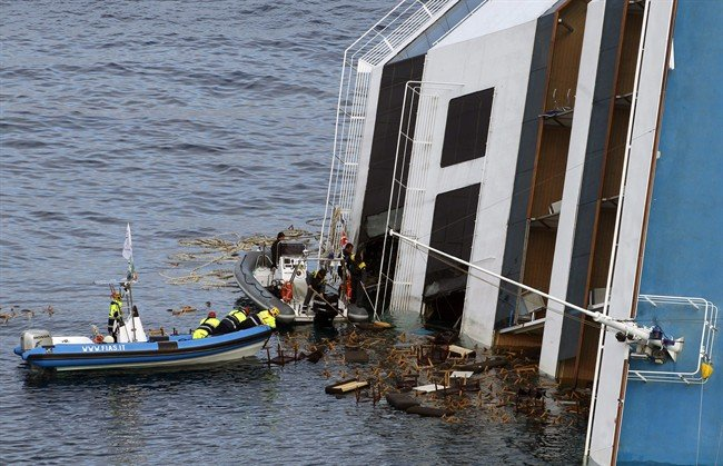 Costa Concordia cruise ship disaster is raised to 16 after another body has been found inside the wreck of the vessel officials say photo