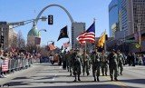 Crowds of nearly 100,000 in St. Louis honored Iraq war veterans in the first big welcome-home parade since the last troops were withdrawn from Iraq in December
