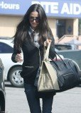 Demi Moore, 49, appeared gaunt as she was seen running errands in Hollywood on Saturday afternoon
