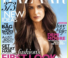 Demi Moore has made a frank confession in her latest interview with Harper's Bazaar that she fears she isn't worthy of being loved