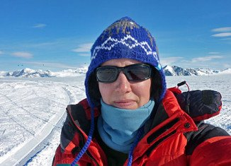 Explorer Felicity Aston from UK has reached Antarctica's Hercules Inlet, becoming the first woman to cross the continent alone