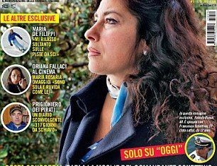 Fabiola Russo, the wife of Costa Concordia captain Francesco Schettino has defended her husband in the Italian magazine Oggi interview