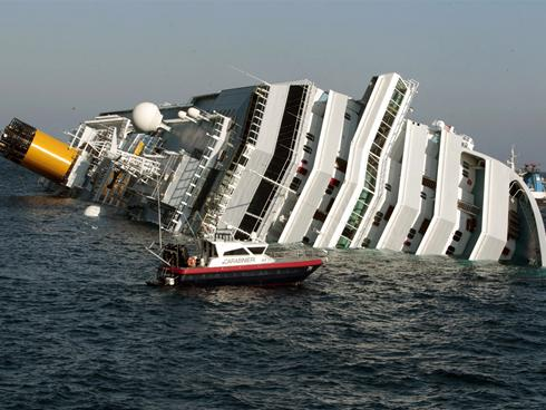 Francesco Schettino the Italian captain of Costa Concordia cruise ship that ran aground killing three person and injuring more than 20 more was arrested late Saturday photo