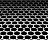 Graphene is a flat layer of carbon atoms tightly packed into a two-dimensional honeycomb arrangement