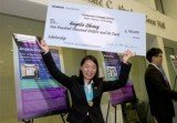High school student Angela Zhang from Cupertino has found a possible cure for cancer and she has been rewarded with a scholarship for $100,000