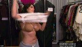 Kim Kardashian stripped down in front of pal Jonathan Cheban to gauge whether or not he is gay