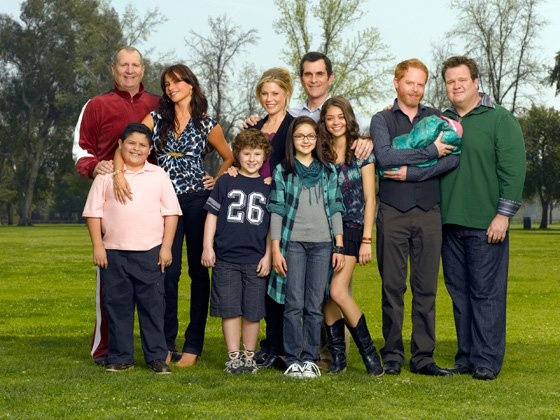 """Modern Family"" received a prize at SAG Awards 2012."
