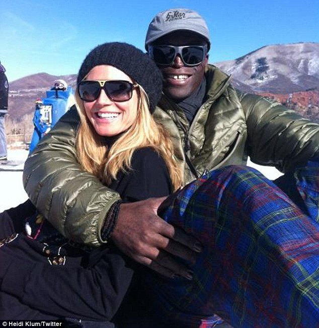 On December 26 Heidi Klum posted a picture on Twitter of the couple on the slopes in Aspen photo
