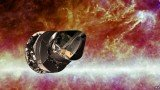 Planck was launched on the same rocket as ESA's other flagship space telescope, Herschel, on 14 May 2009