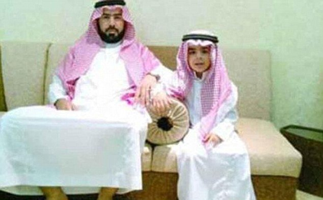 "Saud bin Nasser Al Shahry claims he is selling his son to avoid ""living in poverty"" after his illegal business was shut down"