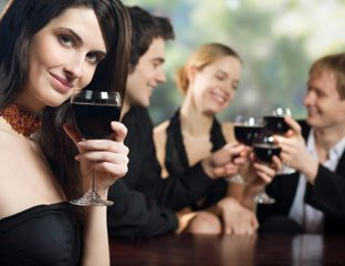 "Scientists have discovered that drinking alcohol releases feel-good chemicals in an area of the human brain often referred to as the ""pleasure centre"""