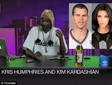 "Snoop Dogg 40 who uses his Nemo pseudonym in the clip calls Kim Kardashian ""cold blooded"" and uses a series of misogynist terms to describe her photo"