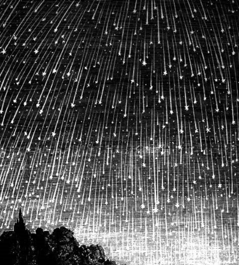 The Quadrantids shower was first seen in 1825, according to NASA
