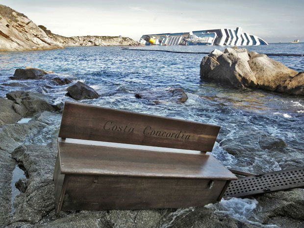 The death toll of Costa Concordia disaster is raised to twelve after the body of a woman has been found on board of the Italian cruise ship